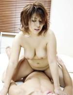Asian Av Maids - Yukari Asian doll with big boobs rides penis ang gets it doggy