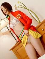 Asian 69 Amateur - Rina Yuuki Asian gets one huge frigging after licking hard penis