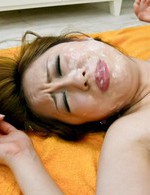 Japanese Av Gangbang - Yurina Asian is teased with vibrator on hairy peach and gets cum