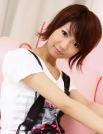 Japanese Av Lingerie Videos - Miriya Hazuki is in green satin before spreading her pussy wide