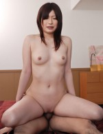 Asian 69 Schoolgirls - Riko Oshima milks a thick cock with her smooth hairless pussy