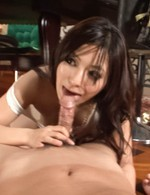 Hot Asian 69 Models - Kanade Otowa Asian gets vibrator till squirts and licks penis