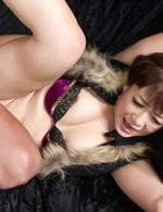 Asian 69 Sex Toys - Kurara Iijima Asian with fingered cunt sucks and rides shlong