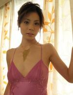 Japanese Av Models - Natsumi Mitsu in torn stockings blindfolded and fingered