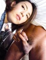 Asian 69 Office Sex - Yuna Satsuki Asian in school uniform sucks boners in full bus