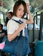 Asian Av Big Tits - Yuna Satsuki Asian in school uniform sucks boners in full bus