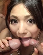 Asian 69 Milf - Kanade Otowa Asian licks and strokes boners and rides them next