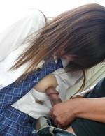 ミクロリ美少女・あいりみくちゃんを電マ責め&高速指マンで潮吹き責め。制服を着せたまま、生ファック!