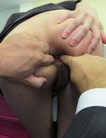 Japanese Av Creampie Videos - Office hottie Ibuki got thong pulled down for a fuck from behind