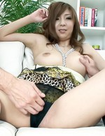 Japanese Av Facial Videos - Hinano Asain cupcake has nipples licked by men she sucks boners