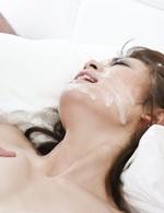 Asian Av Cosplay - Sara Seori Asian has vibrator on hairy cunt and is doggy nailed
