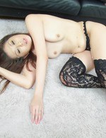 Japanese Av Milf - Nanako Yoshioka Asian has holes fucked by two men the same time