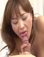 Asian Av Bondage - Hikaru Wakabayashi Asian shakes boobs while riding dick she sucks