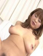 Japanese Av Hardcore - Hikaru Wakabayashi Asian shakes boobs while riding dick she sucks