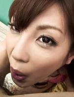 Top Av Porn Videos - Kana Miura Asian with vibrator on nipples gets mouth fucked