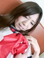 Asian 69 Videos - Yukari Asian in sailor gal uniform uses mini vibrator over thong