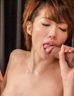 Asian 69 Amateur - Makoto Yuukia Asian sucks dongs and has snatch in doggy frigging