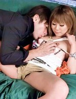 Hot Japanese Av Porn Models - Kokoa Ayane Asian has wet slit fucked with fingers and hard penis