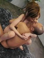 Japanese Av Videos - Mami Masaki Asian has boobs sucked by men whose dicks she rubs
