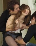 Hot Av Porn Videos - Rino Sakuragi Asian gets fingers and cum from sucked boners