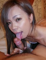 Av Hardcore Porn - Sakiko Asian chick licks dong and gets vibrator in wet poonanie