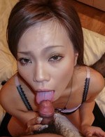 Hot Av Porn Videos - Sakiko Asian washes her pussy, sucks dong and gets doggy style