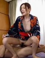 Japanese Av Lesbian - Kaori Maeda Asian is fucked in cunt and mouth by licked boners