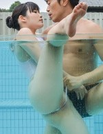 Av Lesbian Porn - Yui Kasugano has crack rubbed in the pool and fucked out of it