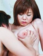 Asian Av Group Sex - Stunning Aoi Mizumori in black nylon milks a hard dick