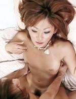 Japanese Av Bukkake - Erena Kurosawa Asian has pussy full of cum after is drilled a lot