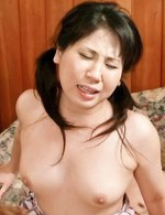Asian 69 Facial - Emiri Takeuchi Asian ends with cum in mouth after is drilled