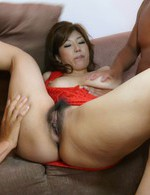 Japanese Av Masturbation Videos - Curvy and luscious Naho Hadsuki milks a hard cock