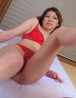 Asian 69 Feet - Reina Nishio Asian has nooky licked before riding strong stiffy