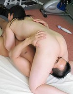 Japanese Av Shaved Pussy - Seira Rando Asian is fucked with dick and vibrator by gym trainer