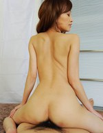 Japanese Av Stockings - Yuu Kusunoki Asian with juicy tits rides cock after vibrator