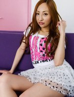 Japanese Av Mini Skirt Videos - Erena Aihara Asian has hairy twat rubbed before riding hard tool