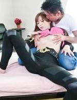 Asian 69 Lingerie - Megu Kamijyou Asian has cunt fucked by shlong she sucks and rubs