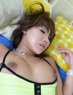Japanese Av Pov - Teasing babe Akiho Nishimura gets her bush cock-filled