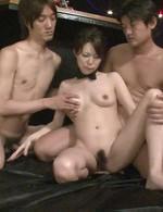 Japanese Av Mature - Rino Asuka Asian gets cocks, vibrator and sperm in her fish taco
