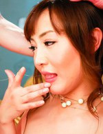 Hot Japanese Av Videos - Mami Asakura Asian is nailed on and on after sucking two cocks