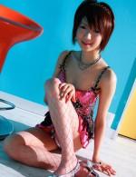 Asian Av Stockings - Cute and joyful Miriya Hazuki gets her wet pink invaded