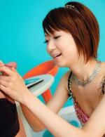 Japanese Av Fingering - Cute and joyful Miriya Hazuki gets her wet pink invaded