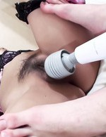 Japanese Av Feet - Nozomi Kahara Asian gets vibrator before is fucked from behind