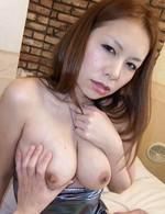 Japanese Av Mature Videos - Hiromi Asian with big boobs licks hard boner and gets vibrator