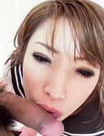 Japanese Av Handjob Videos - Aya Sakuraba Asian in uniform gives blowjob before is screwed