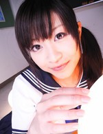 Amateur Av Porn - Aika Hoshino Asian in uniform is fucked like hell in her poonanie